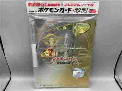 1999 Japanese Pokemon Neo Genesis Sealed Promo Album