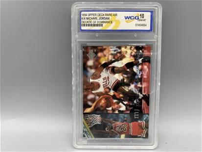 1994 Upper Deck Rare Air Michael Jordan Decade of