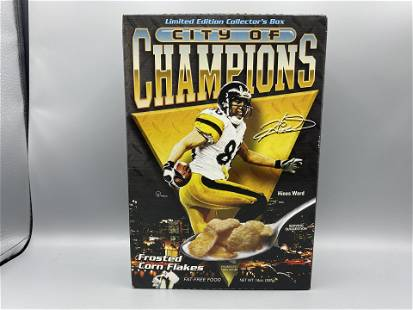 Pittsburgh City of Champions Frosted Corn Flakes Cereal