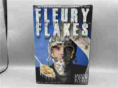 Fleury Flakes Frosted Corn Flakes Cereal Sealed and
