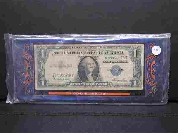 1935-E $1 Silver Certificate.