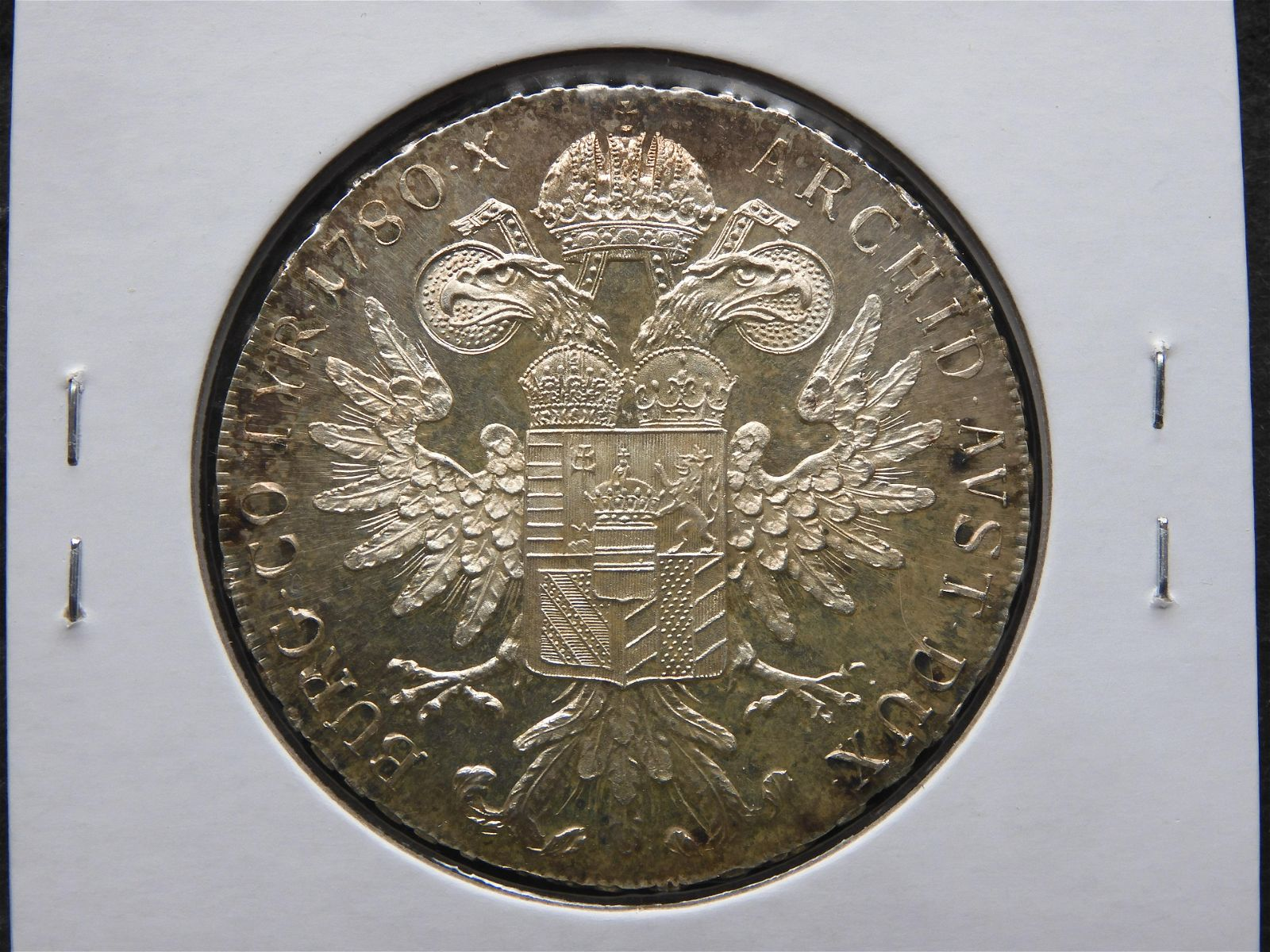 1780 Austria Maria Theresa Thaler. Silver. Restrike.
