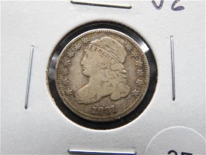1831 Bust 10c. VG.