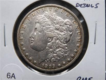 1893 Morgan $1. XF Details. Rare Date.