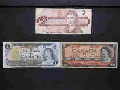 $5 Face Value Canada Currency.