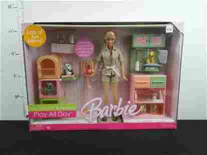 NIB Mattel Barbie Zoo Doctor and Nursery