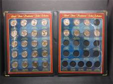 United States Presidential Dollar Collection-28 Coins