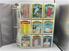 1972 Topps Baseball Complete Set