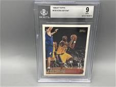 1996-97 Topps Kobe Bryant RC #138 BGS 9