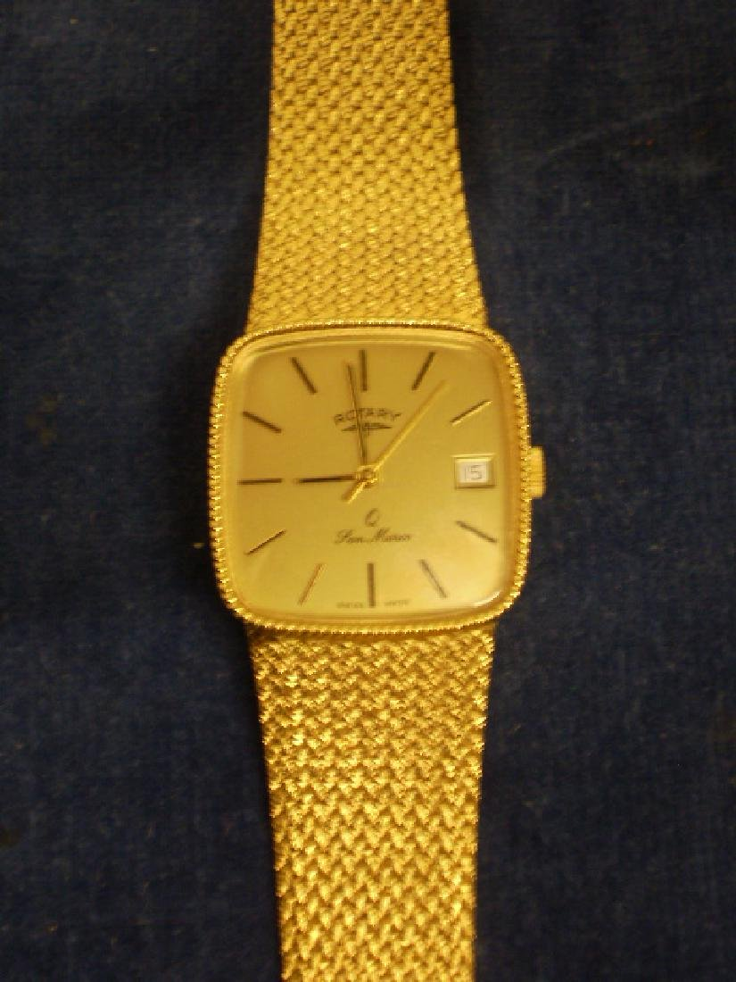ROTARY SAN MARCO GOLD COLOURED WRISTWATCH 397 UC