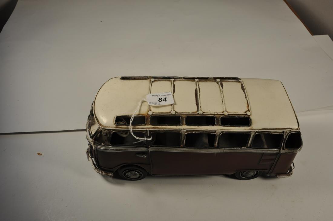 LARGE TIN PLATE MODEL VW VAN