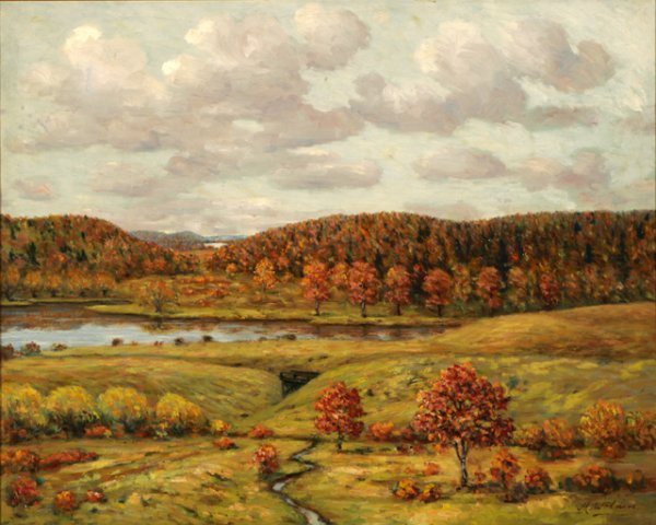 3013: Mathais Wolden Landscape Oil