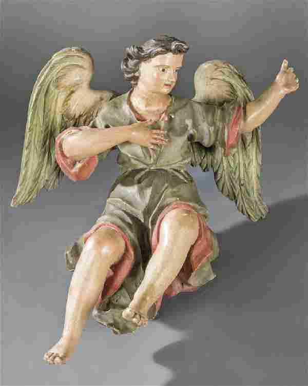 "Spanish School 17th century - ""Angel"""