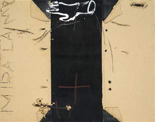 ANTONI TAPIES - Mà sobre negre