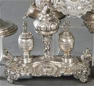 Writing tools in Spanish hallmarked silver in its own