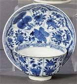 Porcelain plate and cup from the Company of the Indies,