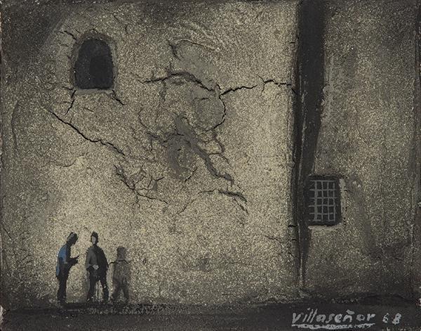 MANUEL LÓPEZ VILLASEÑOR - The wall