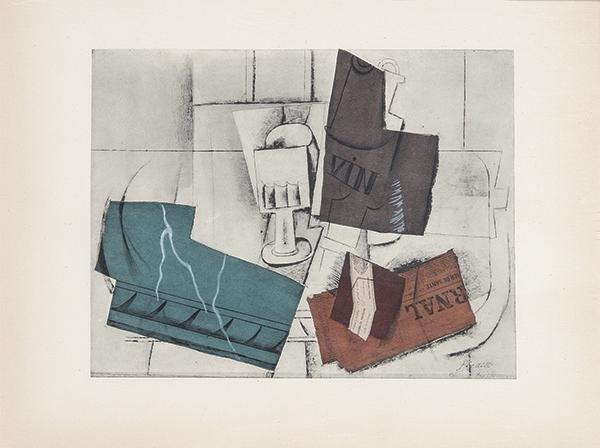 PABLO PICASSO - Picasso Venti Pochoirs Originali