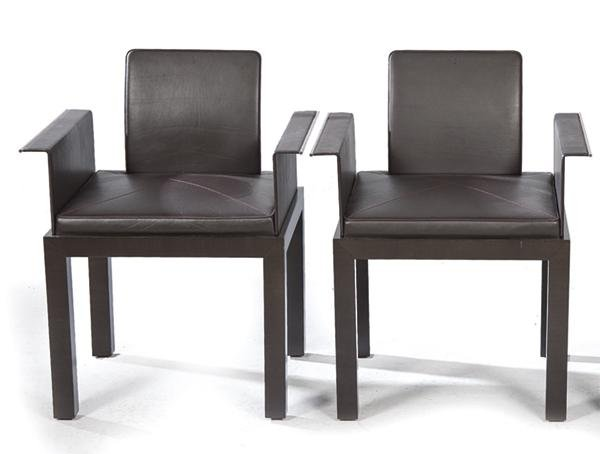 Set of ten TRESSERRA Collection dining chairs