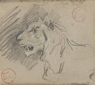MARIANO FORTUNY Y MARSAL - Lion's Head