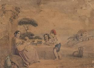 JOAQUN VAAAMONDE CORINDE Italian peasants
