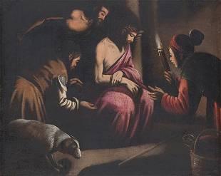 FOLLOWER OF THE BASSANO S XVIII Jesus imprisioned