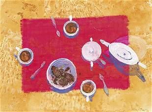ALFONSO ALBACETE - Tea in the desert. nineteen ninety