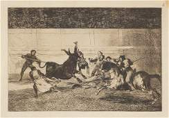FRANCISCO DE GOYA AND LUCIENTES  Fright and confusion