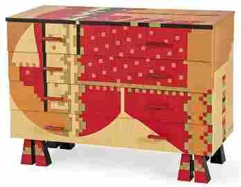 Calamobio chest of drawers - design Alessandro Mendini