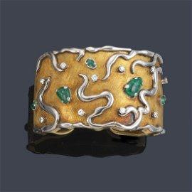ANTONIAZZI CHIAPPE Rigid bracelet with brilliant