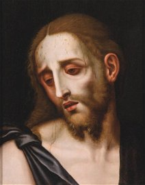 """LUIS DE MORALES """"THE DIVINE"""" Badajoz h. 1510 - 1586"""
