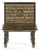 Cabinet Nambán, Momoyama period (1573-1615), in