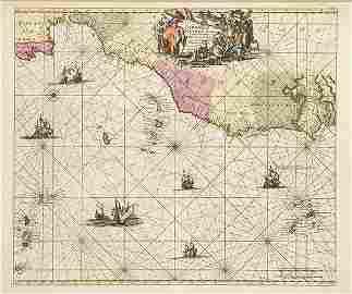 LOUIS RENARD - Barbariae et Guineae aritimi á