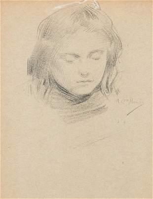 ANTONIO GARCÍA MENCÍA - Portrait of a girl