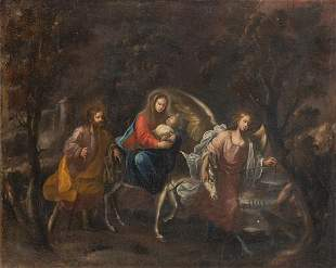 FRANCISCO ANTOLINEZ Y SARABIA - The Flight into Egypt
