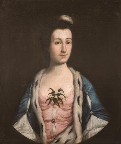 ENGLISH SCHOOL 19 th century - Portrait of a lady