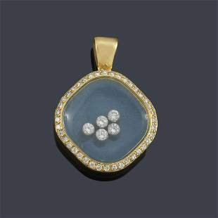 CHOPARD   Pendant from the 'Happy Diamonds' collection