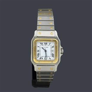 Men's CARTIER Santos nº 296185539 with case and