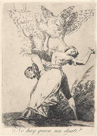 FRANCISCO DE GOYA Y LUCIENTES - There is no one who