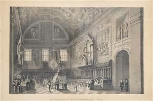 FERNANDO BRAMBILLA - View of the interior of the choir