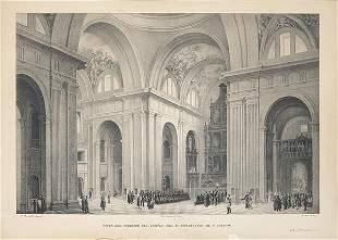 FERNANDO BRAMBILLA - View of the interior of the temple