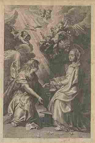 JUAN ANTONIO SALVADOR CARMONA - Annunciation