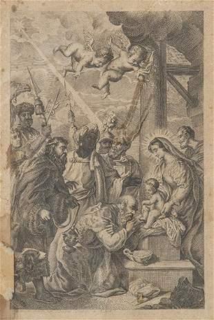 JUAN ANTONIO SALVADOR CARMONA - Adoration of the Kings