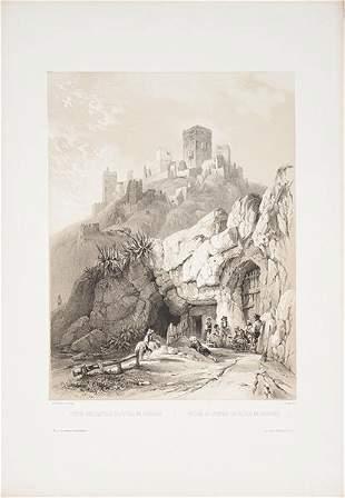 GENARO PEREZ VILLAAMIL - Ruins of the Castle of