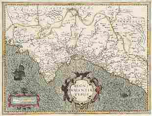 GERARDUS MERCATOR - Regni Valentiae Typus. Amsterdam,
