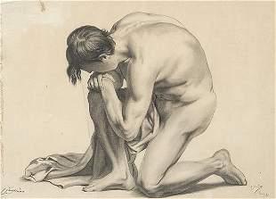 ESCUELA ESPAÑOLA 19th century - Male academy with