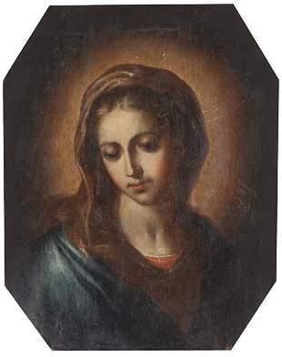 ITALIAN SCHOOL Early 18th century - Virgin Mary