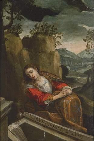 ITALIAN SCHOOL 17th century - Penitent Magdalene