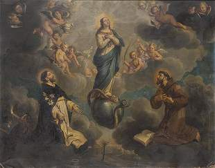 FLEMISH SCHOOL 17th century- Immaculate Conception