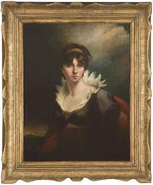FOLLOWER OF HENRY RAEBURN 18th century - Portrait of a